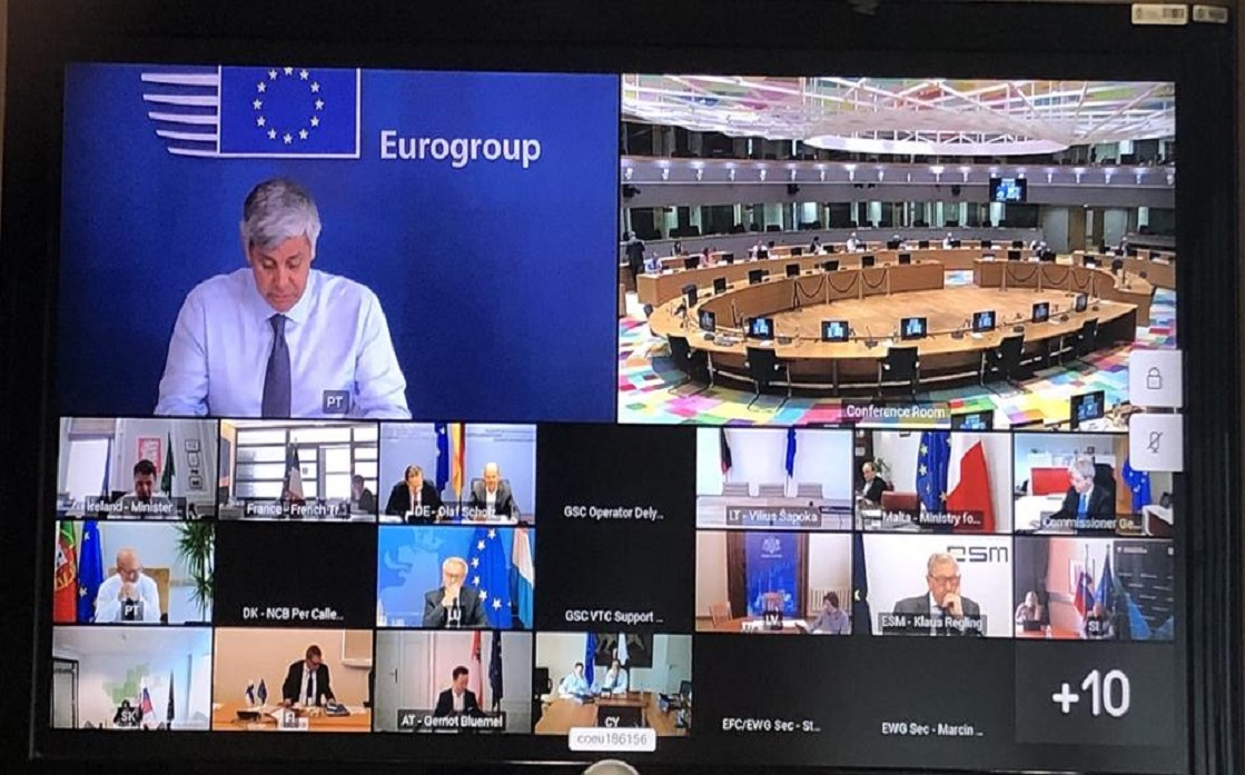 The euro group elects its president in light of the largest economic recession in the history of Europe