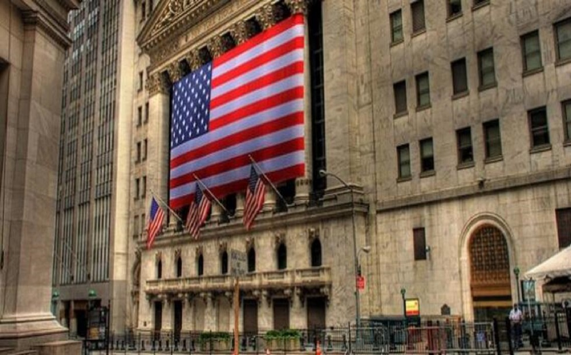 Wall Street closed modestly lower at the end of a strong performance for the month of August