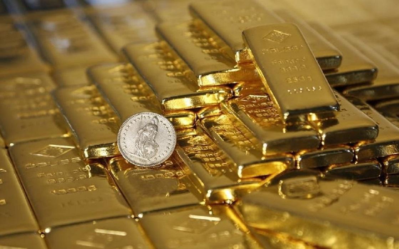 Gold ends the week below $1800 an ounce