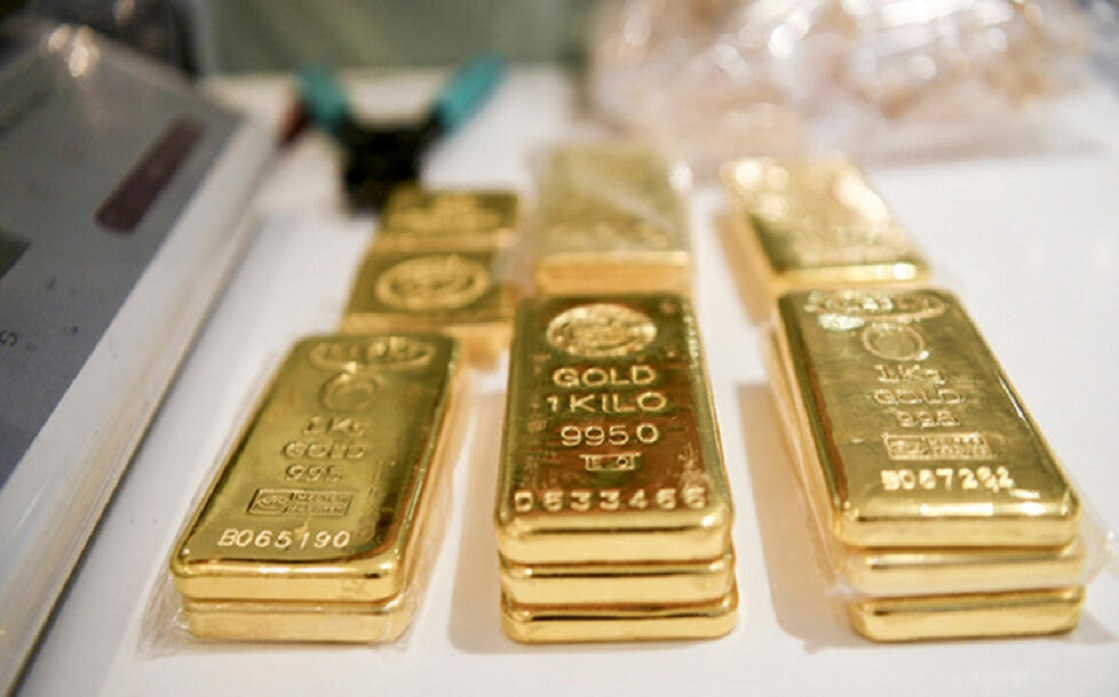 Gold gives up its gains following the US Federally meeting minutes