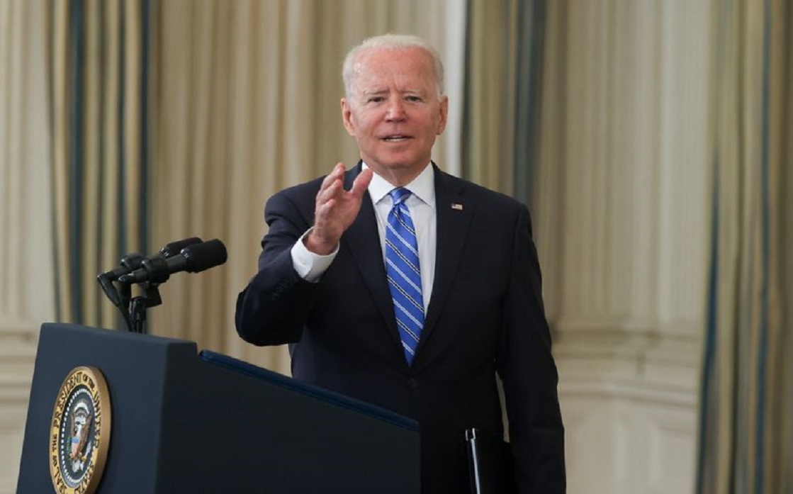 Biden says inflation is temporary, urges Fed to take all necessary steps to recover