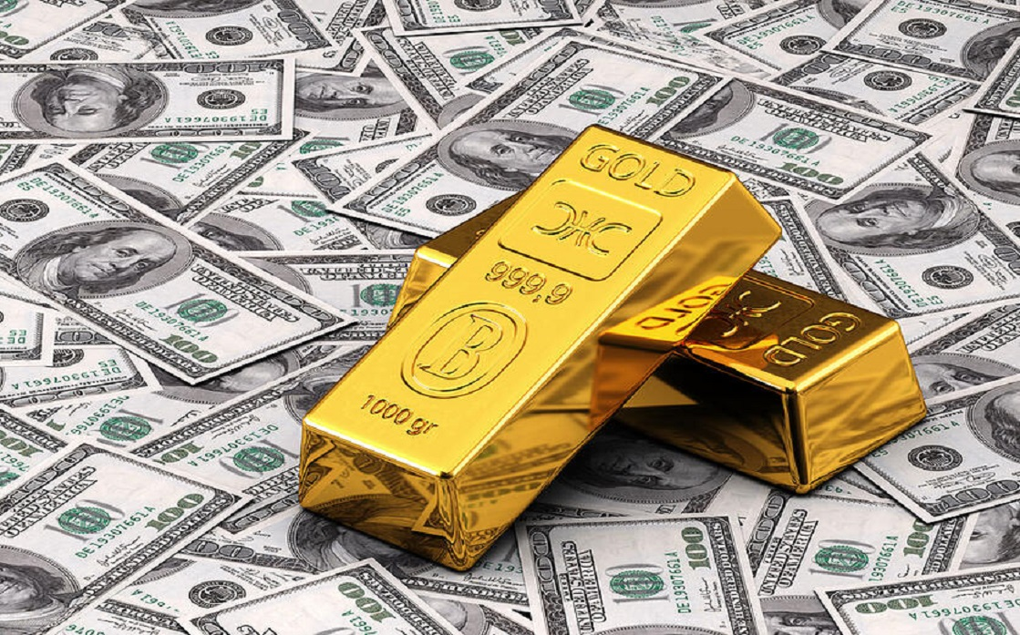 Gold is heading for a third weekly rise as monetary tightening concerns subside