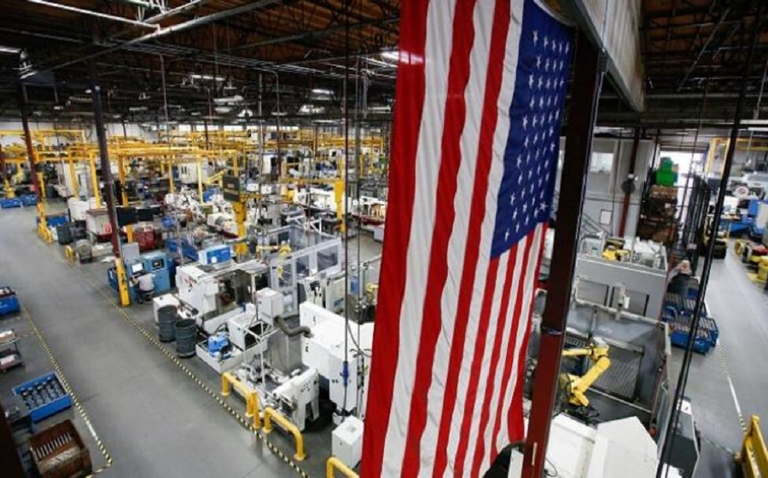 US manufacturing production exceeds expectations