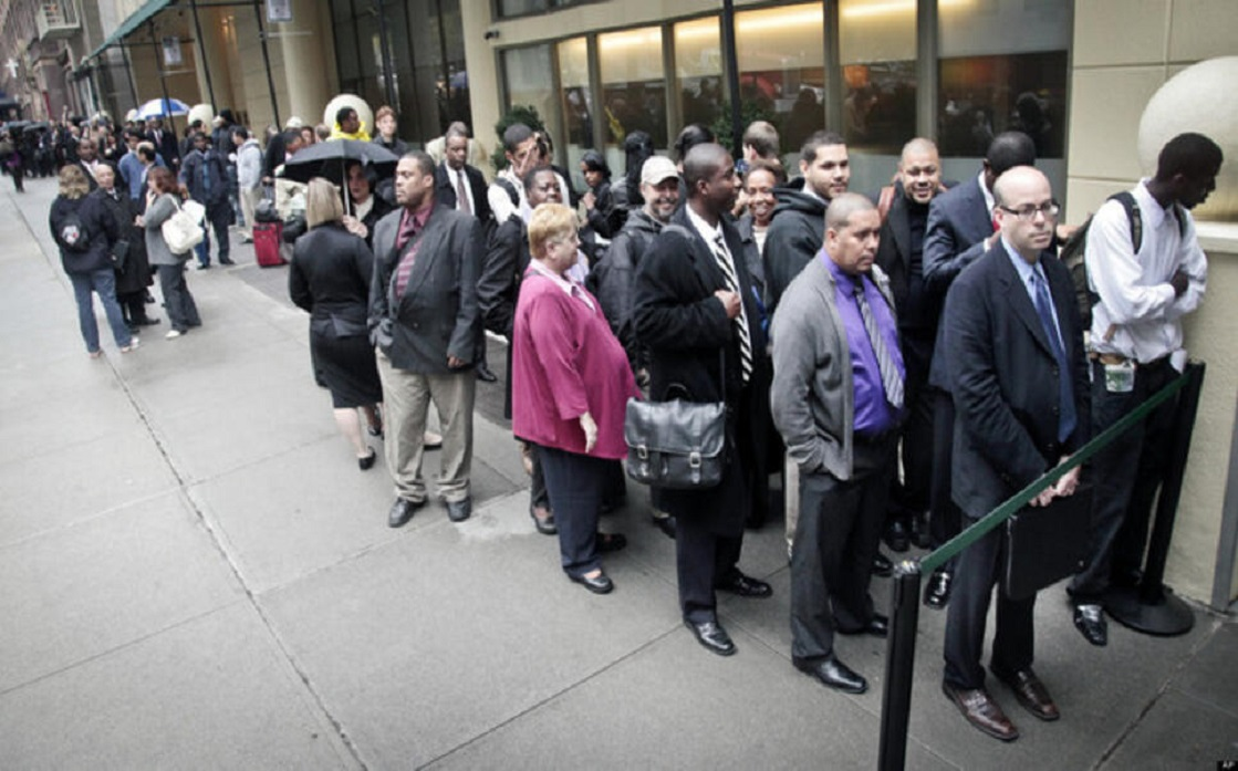 An unexpected increase in US jobless claims last week