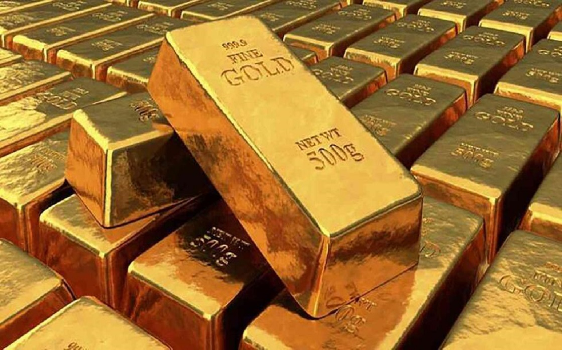 Gold reaches a peak of 7 weeks as US bond yields drop