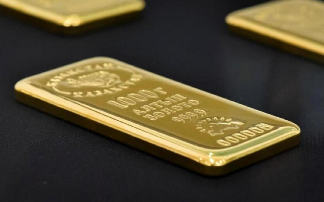 Gold is declining as US stocks diminish its appeal