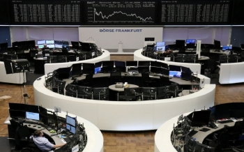 Sharp losses rock European shares, and a decline of up to 5% in Germany due to the closure