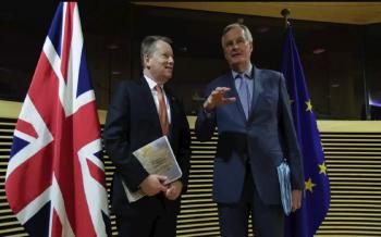 بريطانيا-والاتحاد-الأوروبي-يتفقان-على-تكثيف-محادثات-التجارة-2020-10-19