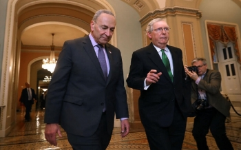 us-senate-majority-leader-announces-agreement-to-extend-debt-ceiling-until-early-december-2021-10-07